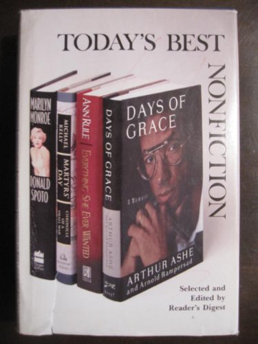 Books : Everything She Ever Wanted/Martyr's Day/Marilyn Monroe: The Biography/Days of Grace: A Memoir (Reader's Digest Today's Best Nonfiction, Volume 26: 1993)