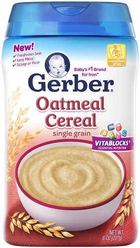 Gerber Baby Cereal, Oatmeal, 8 Ounce thomaswi