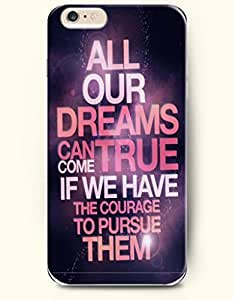 iPhone Case, SevenArc iPhone 6 (4.7) Hard Case **NEW** Case with the Design of all our dreams can come true if we...