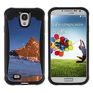 """Hypernova Defender Series TPU protection Cas Case Coque pour Samsung Galaxy S4 IV I9500 [Naturaleza Moon Mountain""""]"""