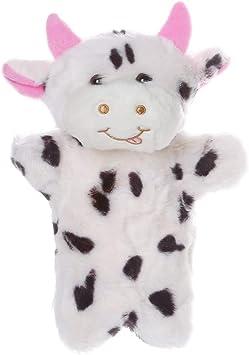 Cute Cartoon Pink Pig Doll Kids Glove Hand Puppet Soft Plush Toys Story Telling