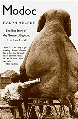 Modoc The True Story Of The Greatest Elephant That Ever Lived By Ralph Helfer