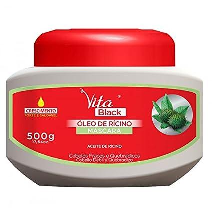 Mascarilla Vitablack Aceite De Ricino 500 g: Amazon.es: Belleza