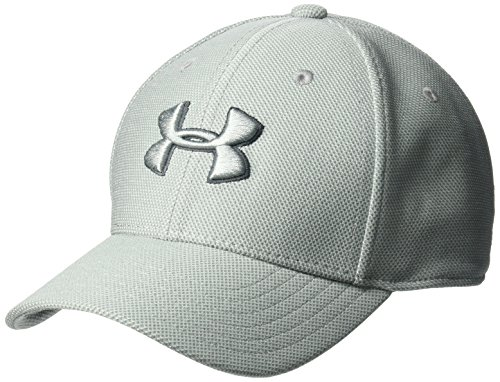 Under Armour Boys' Heathered Blitzing 3.0 Cap, Steel (035)/Steel, Youth -