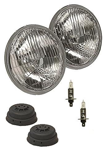 HELLA 002425811 135mm H1 High Beam Halogen Conversion Headlamp Kit - Hella Xenon Headlights