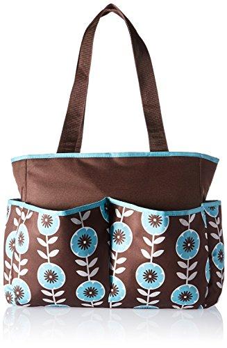 Baby Essentials Baby Essentials Floral 4 Piece Diaper Bag Se