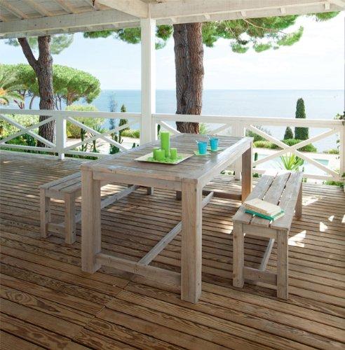 Table et bancs Hespéride TOPENG: Amazon.fr: Cuisine & Maison