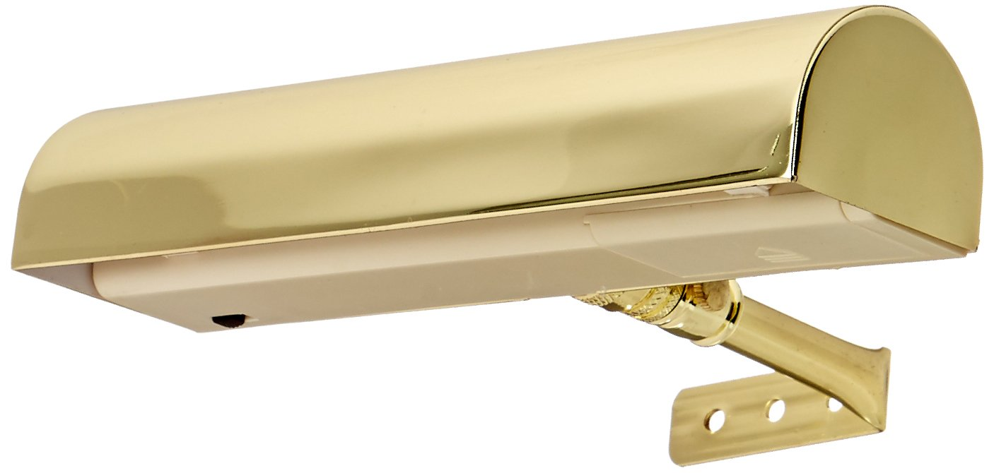 Concept Lighting 201 Ultra Efficient Cordless Picture Light, 7-3/4-Inch, Brass by Concept Lighting