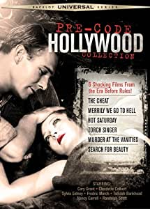 Pre-Code Hollywood Collection (The Cheat / Merrily We Go to Hell / Hot Saturday / Torch Singer / Murder at the Vanities / Search for Beauty) (Universal Backlot Series)