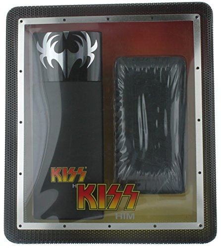 (Kiss Him Gift Set for Men (3.4 Ounce Cologne Spray, 10 Ounce Dr.love Body Bar))