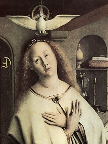 - Lais Jigsaw Jan Van Eyck - Ghent Altarpiece, Altar of The Mystic Lamb, Outside of The Wings, Middle Outer Scene: Virgin of The Annunciation, Detail: Mary and The Holy Spirit (Dove) 500 Pieces