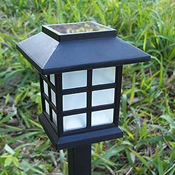 Luz solar para césped Luz solar pequeña para palacio Luz LED para decoración de jardín Tipo de habitación pequeña Luz de enchufe Color 2P: Amazon.es: Iluminación