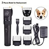 Upgrade Pet Rechargeable Hair Electric Clippers, Dog Grooming...