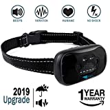 ZENNO No Bark Collar for Small, Medium, Large Dogs - Upgrade Stop Barking Collar for Dogs with Vibration and Sound - Humane and Safe Anti Bark Collar for Dogs - 100% Waterproof Bark Collar