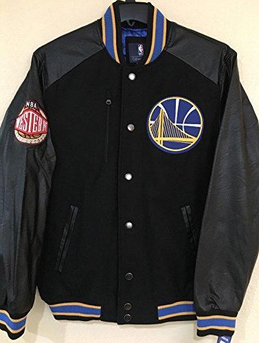 Golden State Warriors G-III NBA ''Heavy Hitter'' Men's Premium Varsity Jacket(XXL) by G-III Sports