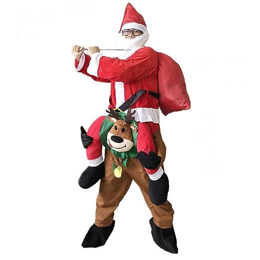 Hombres Llevar Cosplay Yo Navidad Disfraz Navidad Mascota Ciervo ...