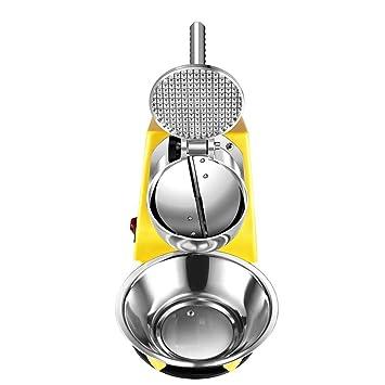 GBX Máquina de hielo eléctrica con mezclador para hacer bebidas de ...