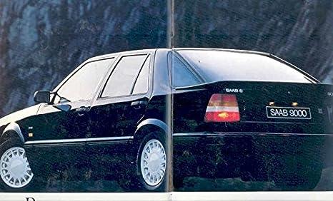 Amazon.com: 1986 Saab 9000 Turbo 16 Prestige Brochure German: Entertainment Collectibles