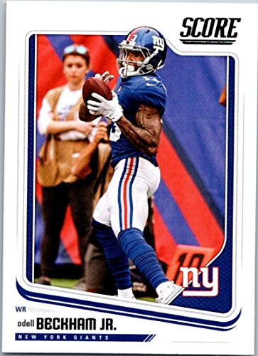 Football NFL 2018 Score #229 Odell Beckham Jr. #229 EX/NM NY Giants ()