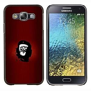 EJOOY---Cubierta de la caja de protección para la piel dura ** Samsung Galaxy E5 E500 ** --Rebelde Che Troll Face divertido Lol Meme