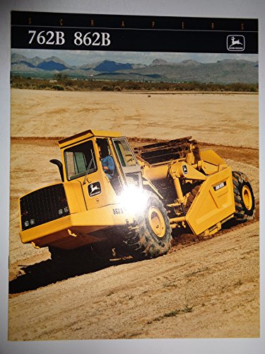 John Deere 762B 862B Scraper Sales Brochure DKA762B