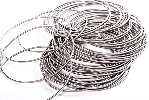 Women's Guitar String Bracelet (Set of 50 Strings)