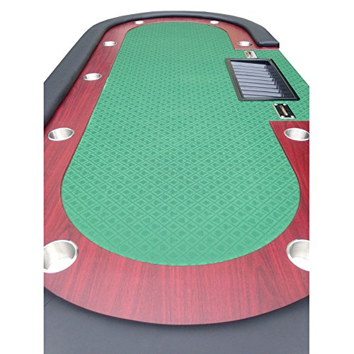 Professional solid wood poker table 10 players dining top for 10 player poker table top
