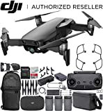 DJI Mavic Air Drone Quadcopter Fly More Combo (Onyx Black) Backpack Bundle