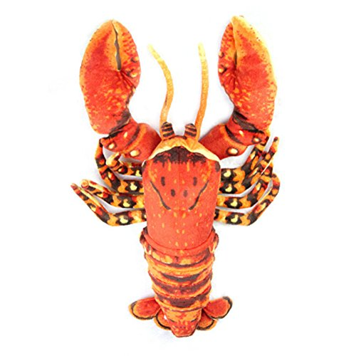 Liangxiang Realistic Soft Plush Stuffed Crawfish and Super Shrimp Animals Toys for Kids' Pillow and Gifts 22 Inches by Liangxiang