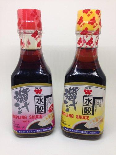 Wei-Chuan Dumpling Sauce Hot and Regular - Variety Pack - 6.5 oz. (Dumpling Sauce)