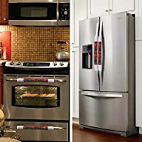 LimBridge - Juego de 4 Fundas para Manillar de frigorífico, Cocina ...