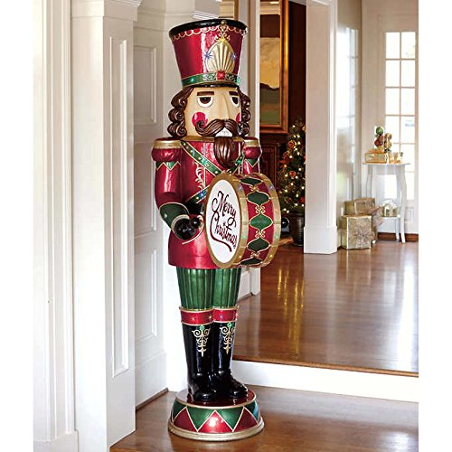 6' Musical Nutcracker Plays 8 Different Holiday Songs 34 LED lights by Nutcracker
