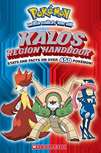 Pokemon: Kalos Region Handbook (Pokemon Chapter Book)