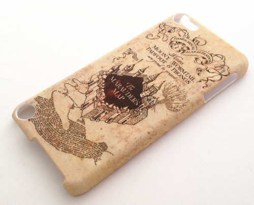 Harry Potter Marauder's Map iPod Touch 5 Snap on Case