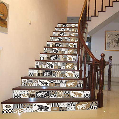 Stair Stickers Wallpapers Decorations Steps Sticker Removable Decor Ceramic Tiles Patterns - Wall Stickers
