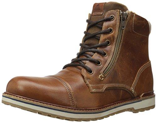 Aldo Men's Suchman Chelsea Boot,Cognac,9.5 D
