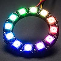 Adafruit NeoPixel Ring - 12 Pixel RGB LED with Integrated Drivers