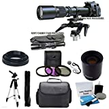 Best PHOTO4LESS Lightweight Tripods - 500mm -1000mm f/8.0 High Definition Multi Coated Telephoto Review