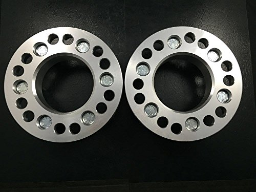 4X WHEEL RIM ADAPTERS SPACERS 6X5.5 (6X139.7) & 6X135 TO 6X5 (6X127) 2 INCH by Customadeonly (Image #3)