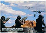 Inkworks Starship Troopers Bug Wars Embossed Chase Card #BW4