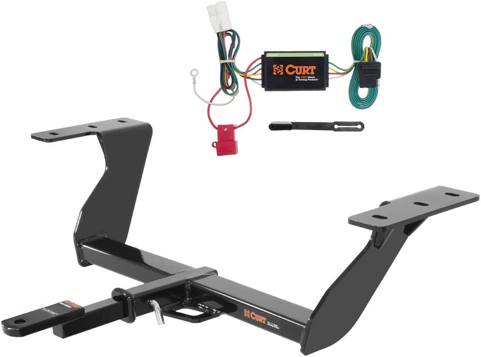 CURT Class 2 Trailer Hitch Bundle with Wiring for 2014-2016 Subaru Forester 121003 /& 56040