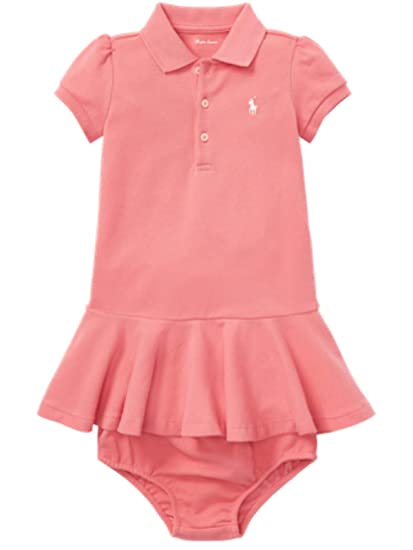 c1ebfd8193a Ralph Lauren Genuine Classic Baby Girls Polo Dress Bloomer Set 6 ...