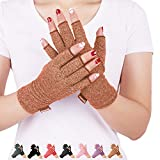 DISUPPO Arthritis Gloves Women and Men Relieve Pain from Rheumatoid, RSI, Carpal Tunnel, Compression Gloves for Dailywork, Hands and Joints Pain Relief