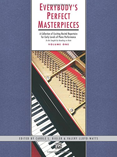 Everybody's Perfect Masterpieces, Vol 1 (Alfred Masterwork Editions) PDF