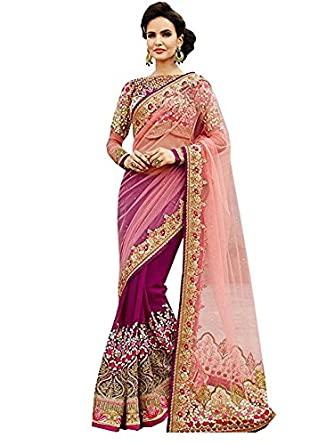 28ab2e424b Delisa Fashion Ethnic Designer Bollywood Party Wear Pakistani Indian Saree  tirupati: Amazon.ca: Clothing & Accessories