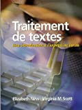 img - for Traitement de textes: Une introduction   l'expression  crite book / textbook / text book