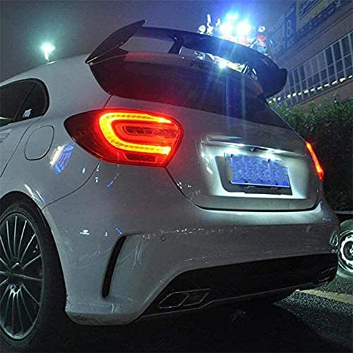 Rear Spoiler Trunk Casement Lip for Mercedes 5-Door W176 A Class A180 A200 A250 A45 AMG Style QMH ABS Rear Spoiler Tailgate 2013-2018
