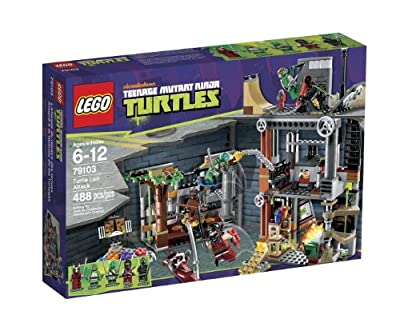 Lego Ninja Turtles Turtle Lair Attack 79103 from LEGO
