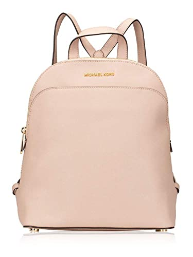 4023352f3d24 Amazon.com: Michael Kors Emmy Large Leather Backpack in Pastel Pink: Shoes