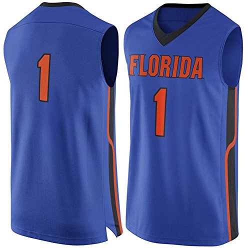 NCAA Men's #1 Royal Florida Gators Basketball College Jersey